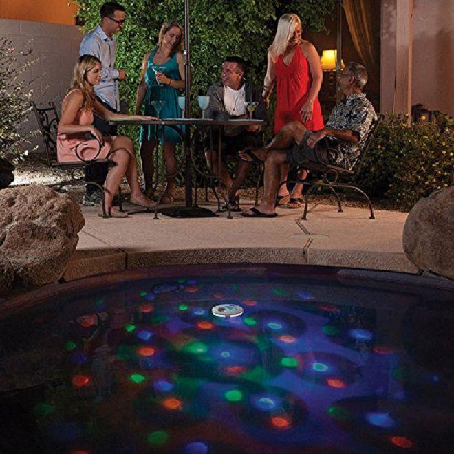 game pool light show