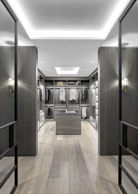 vestidor moderno para hombres