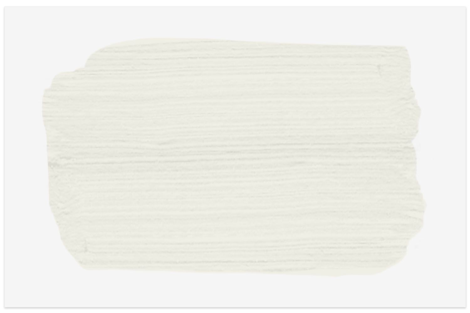 Benjamin Moore White Dove paint swatch