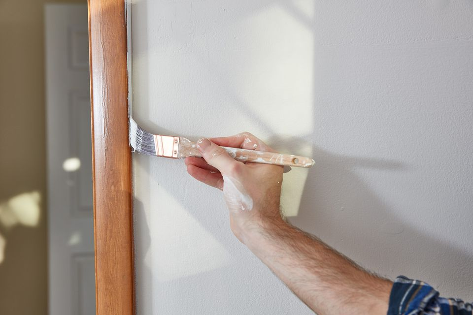 Cutting-in painting
