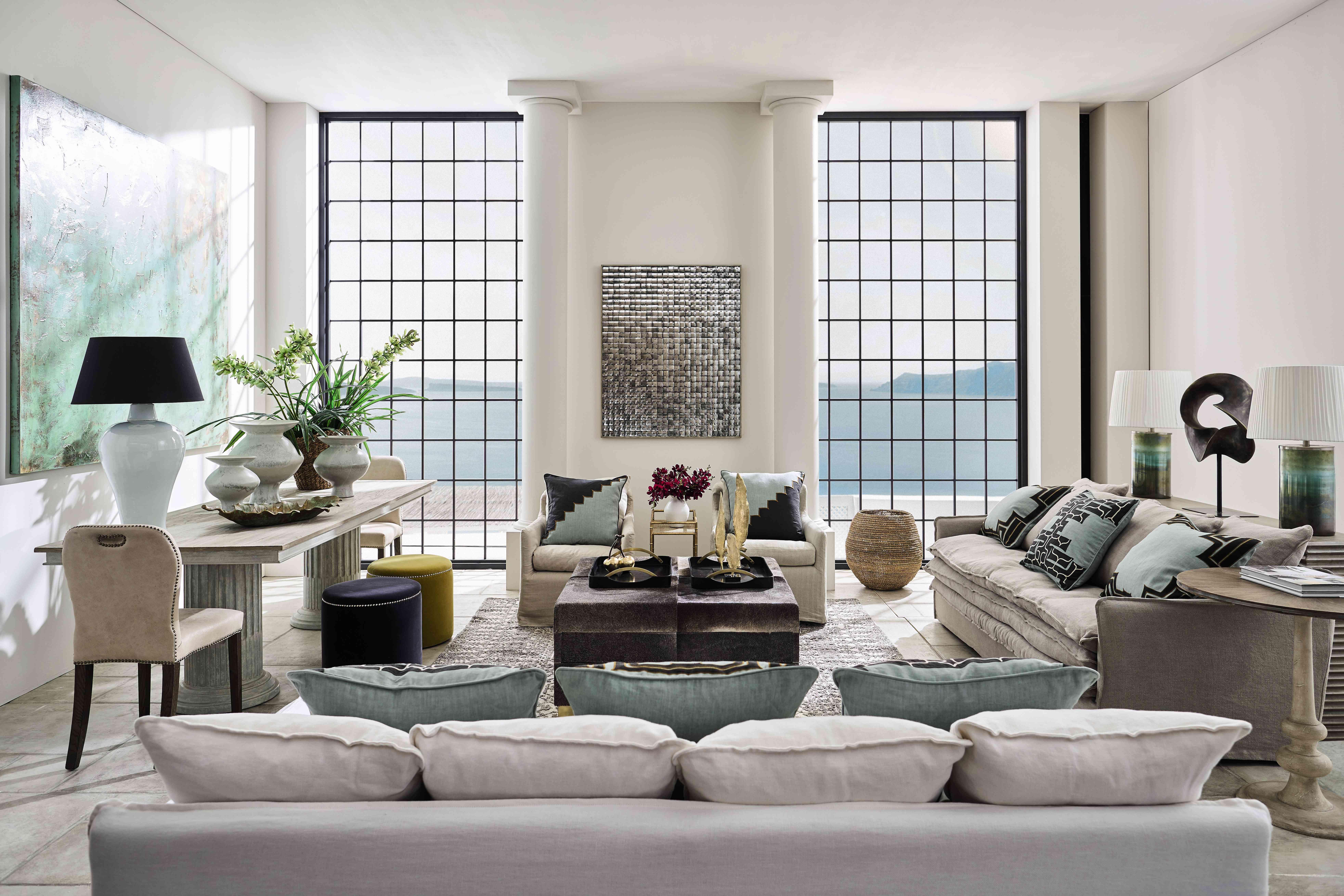 Sitting room by Sue Jones of OKA