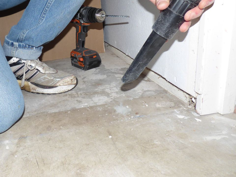 Awesome Hole In Concrete Basement Floor
