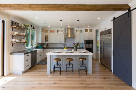Gorgeous Modern Farmhouse Kitchens Kitchen Los Altos Contemporary Design