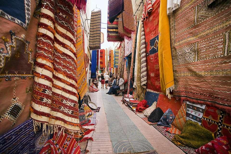 Design Geek: Morocco's Modern Boucherouite Rugs