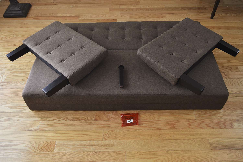 Ebern Designs Tynemouth Convertible Sleeper Sofa
