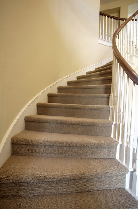 measuring and calculating carpet for stairs