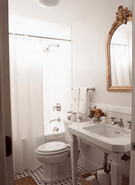 Images Of Bathrooms With Pedestal Sinks. Vintage Bathroom Pedestal Sink