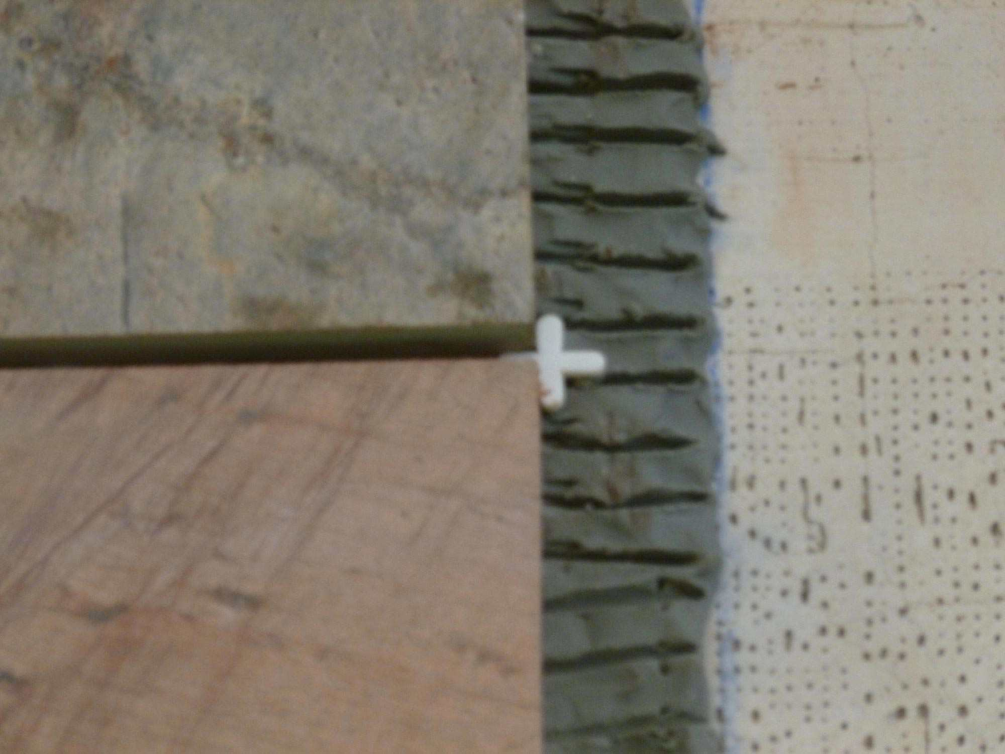 Using Tile Spacers