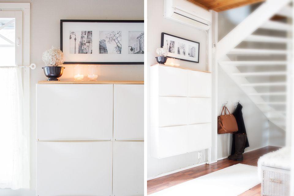 Fine 15 Ikea Hacks For Small Entryways Lamtechconsult Wood Chair Design Ideas Lamtechconsultcom