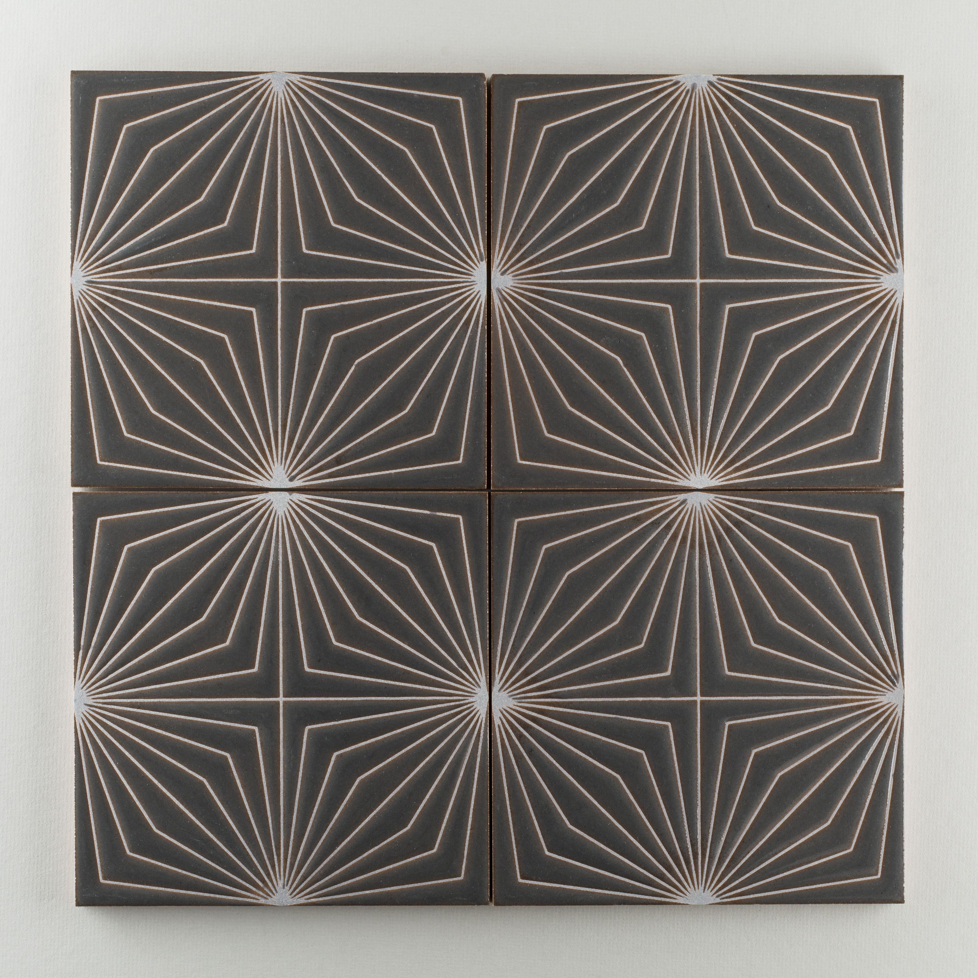 Fireclay's Starburst contemporary tile