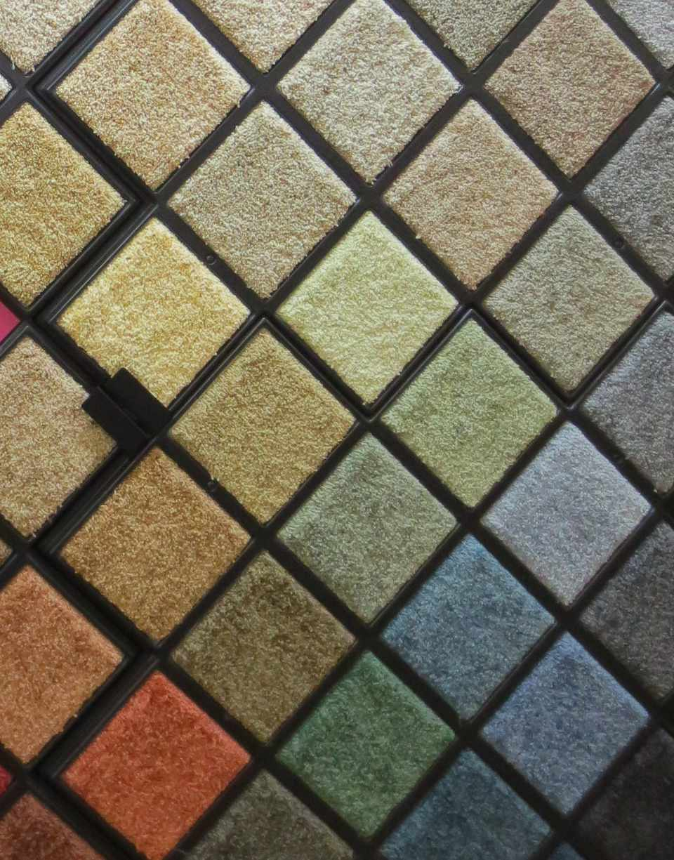 SmartStrand carpet colors