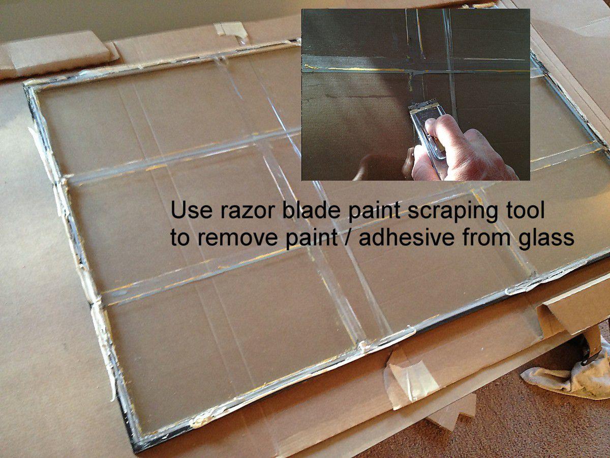 Replacing A Glass Frame In An Exterior Door