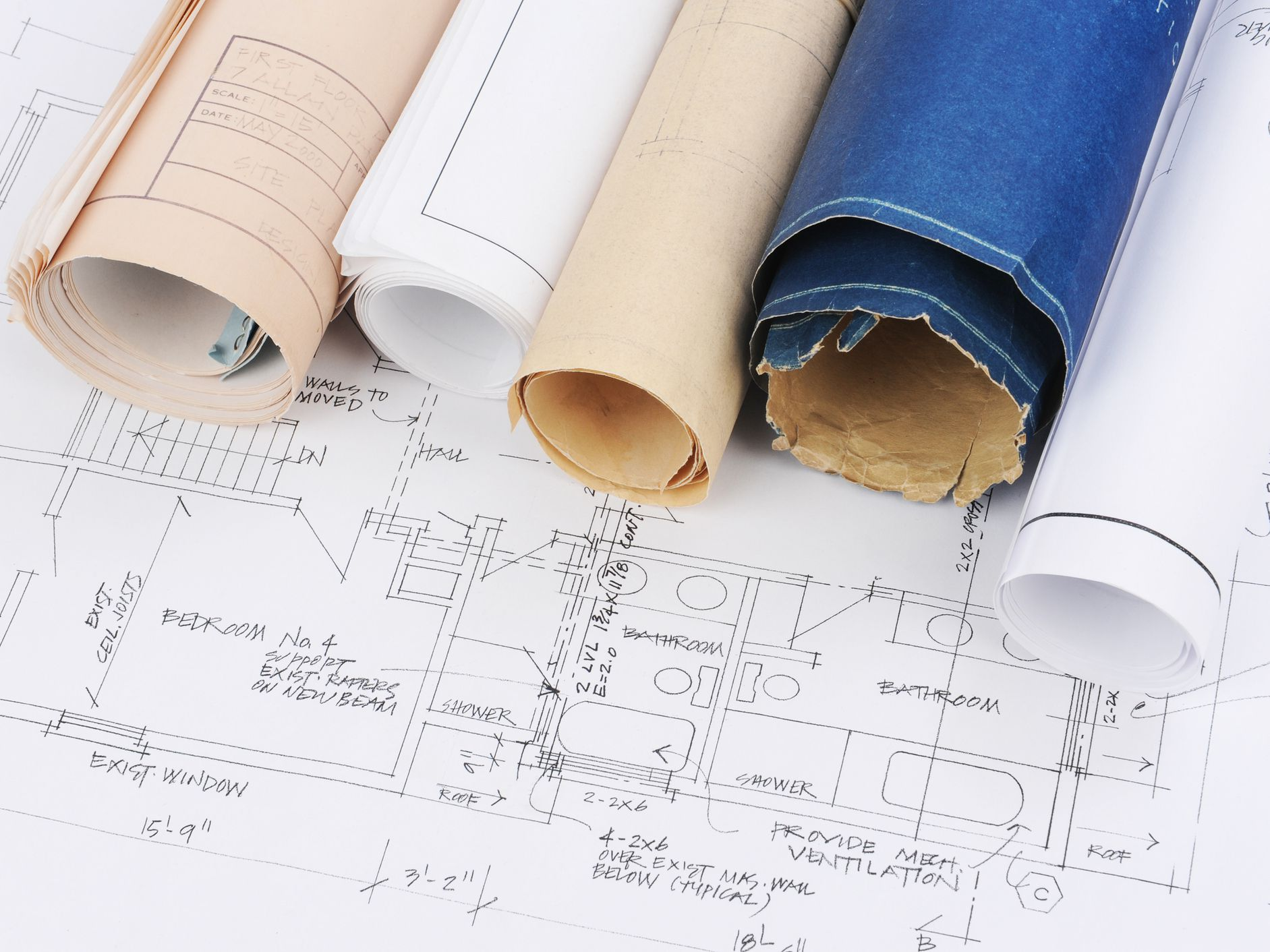 Blueprint Research: Find the Plans for Your Old House