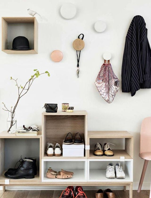 Small and stylish entryway