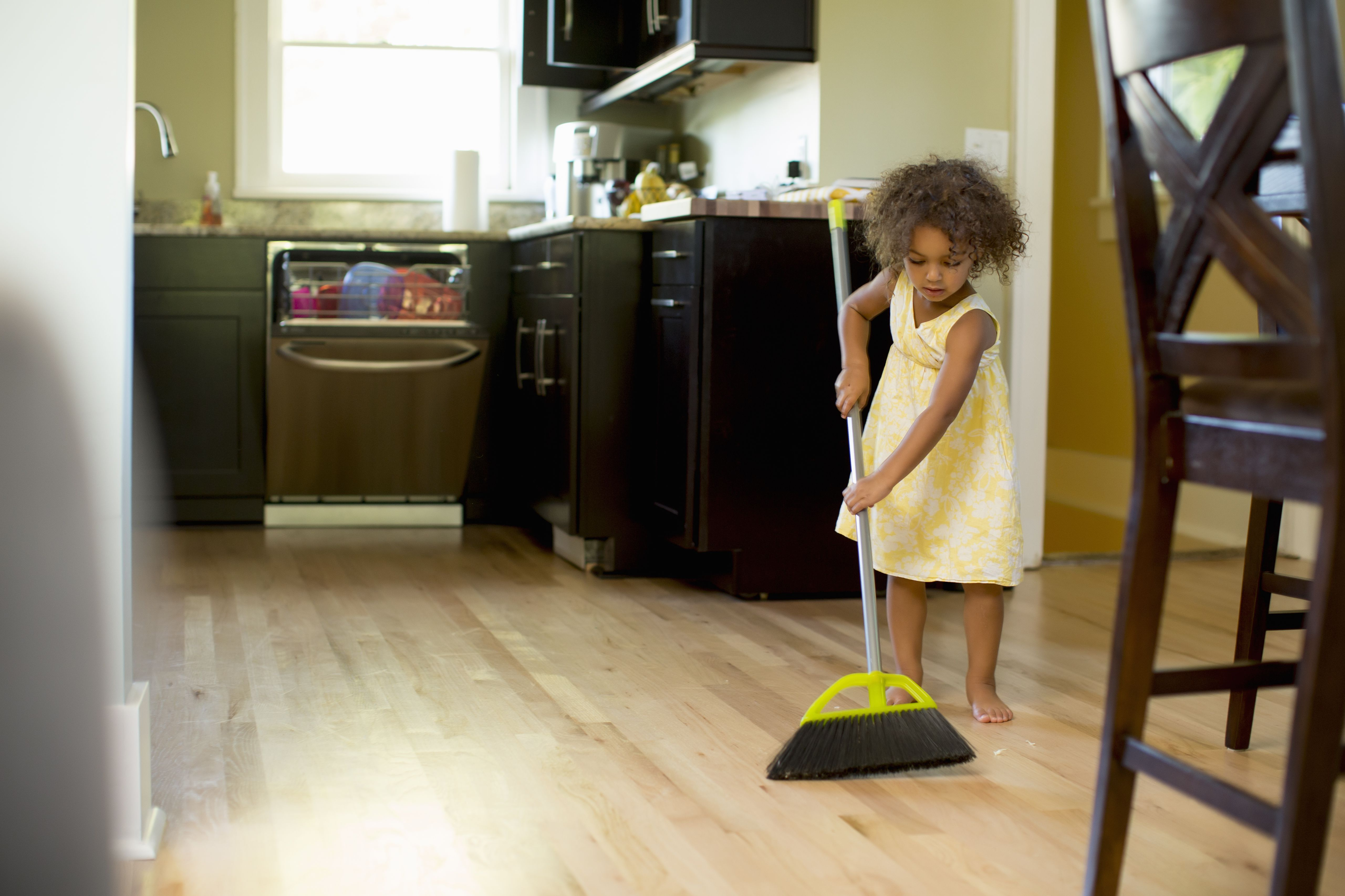cleaning skills for children
