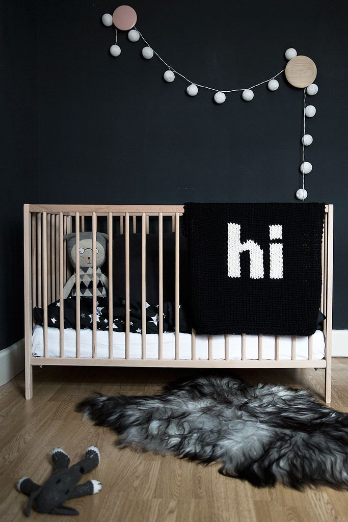 18 Beautiful Reasons To Paint Your Nursery Walls Black