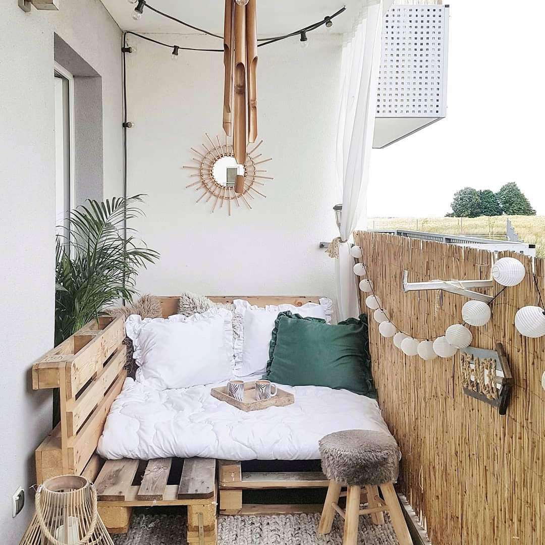 14 Ways to Make the Most of Your Tiny Apartment Balcony