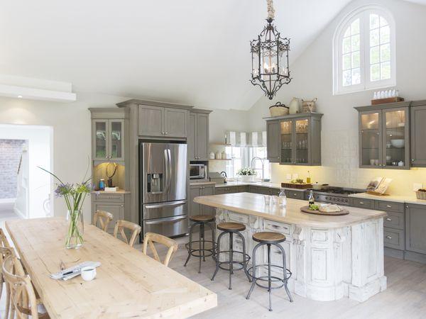 Gray Kitchen Color Scheme