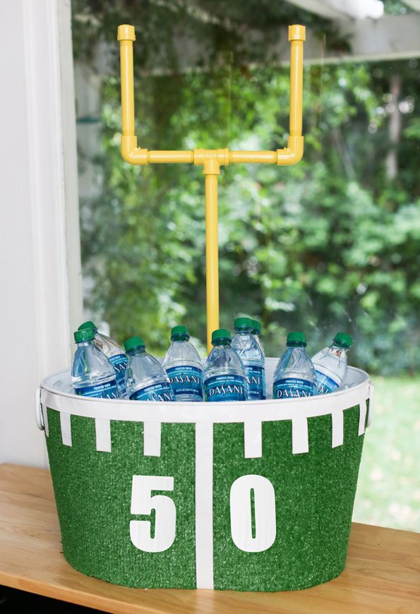 DIY Game Day Beverage Station