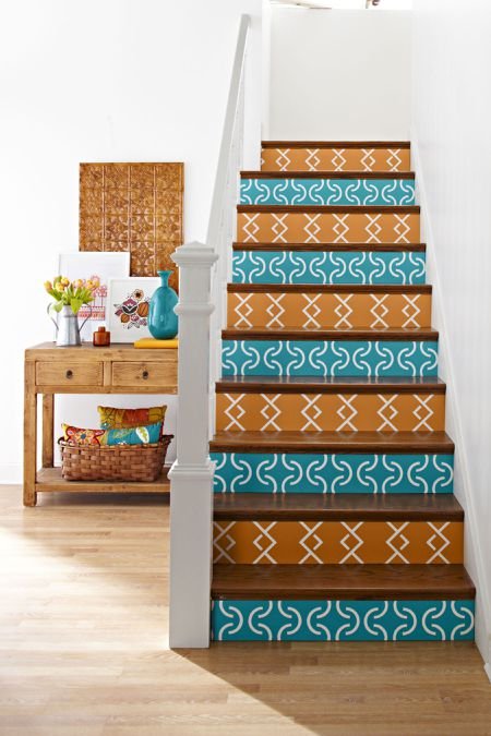 Four Decorative Ways To Dress Up A Stairway