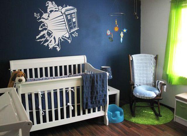 Dr Who Tardis nursery