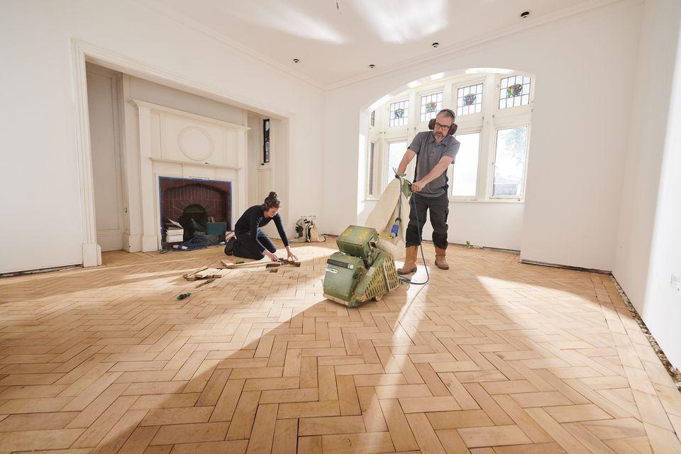 Using A Drum Sander On Hardwood Floors