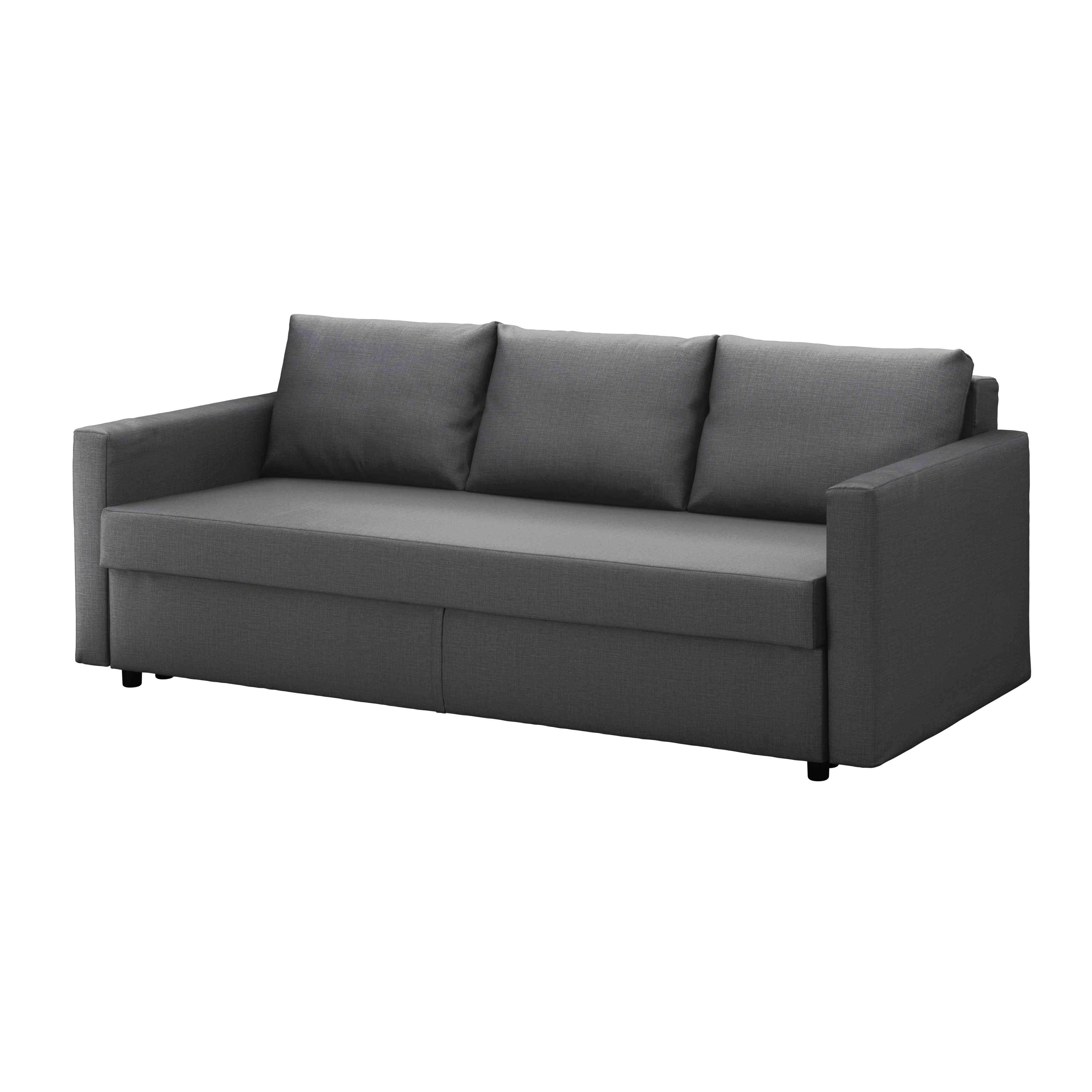 IKEA FRIHETEN Sleeper Sofa, Hyllie Beige or Dark Gray
