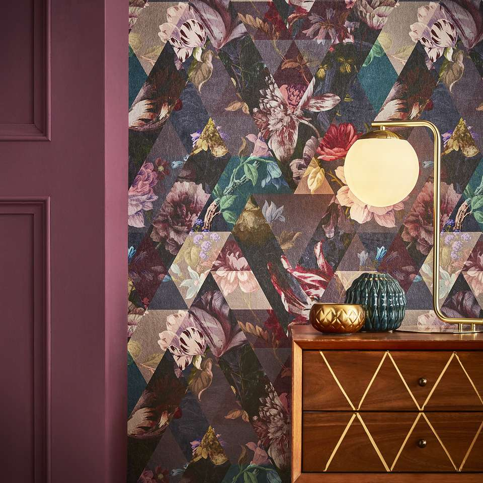 Graham & Brown's Timepiece wallpaper and Epoch paint
