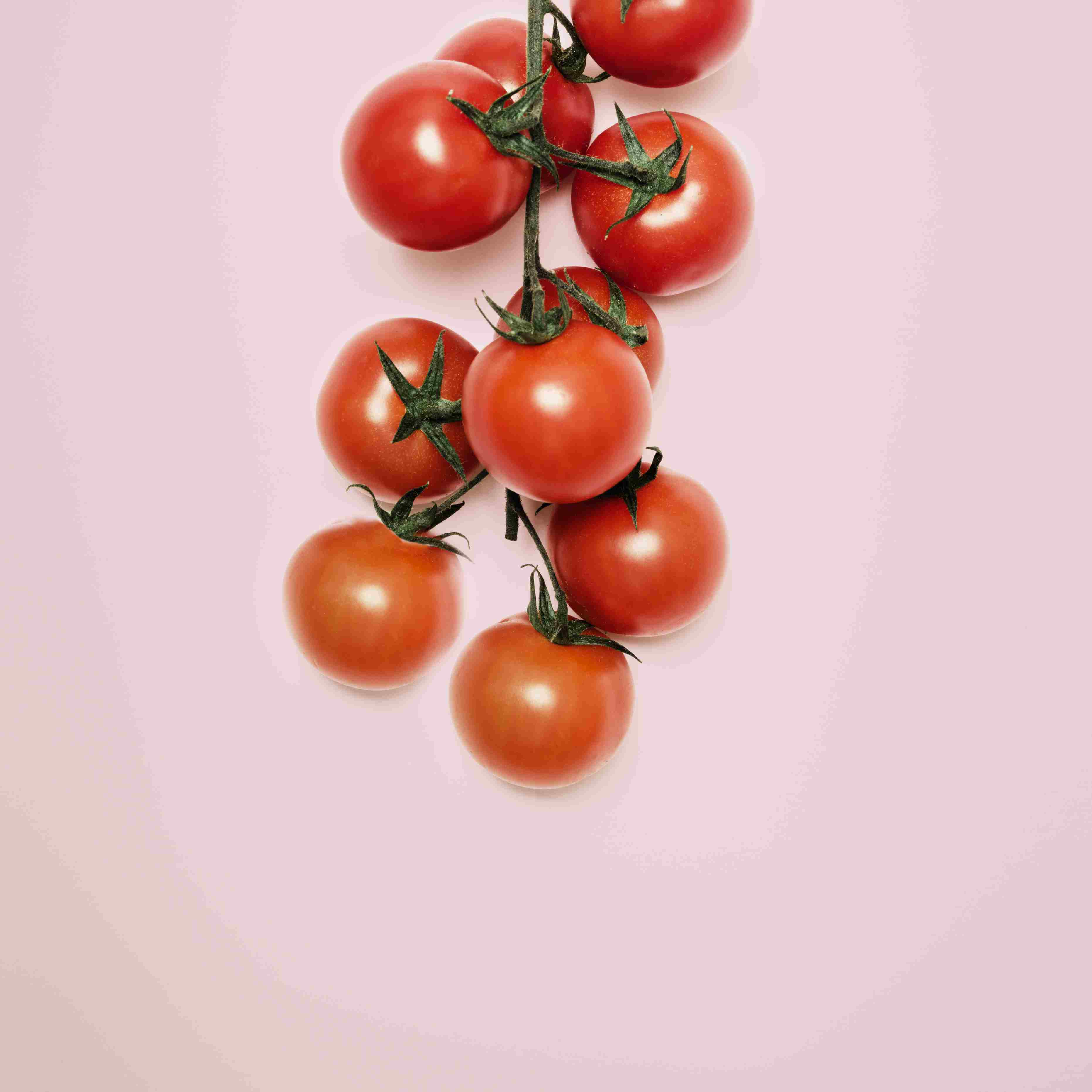Closeup of cherry tomatoes