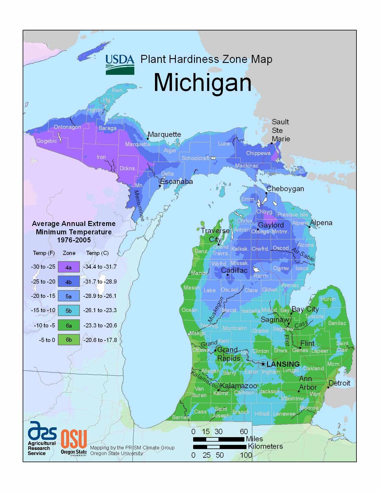 Photo of Michigan Hardiness Zones
