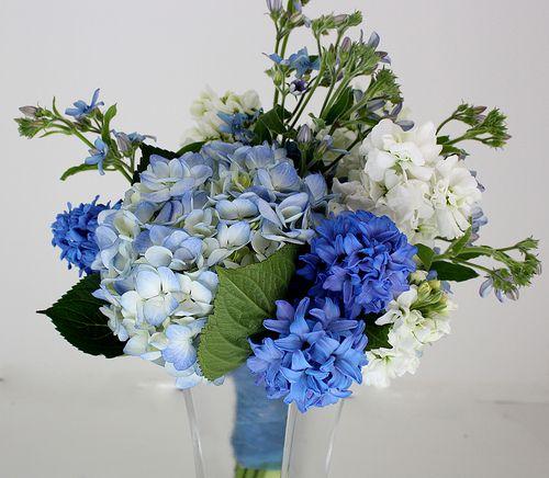 Blue Posy Bouquet