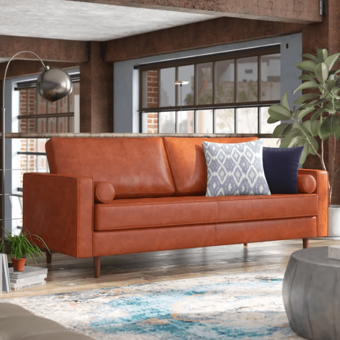 The 7 Best Leather Sofas of 2019
