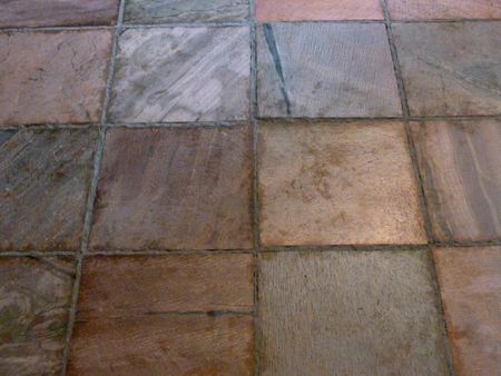 Installing Slate Tile - 18 inch slate tile
