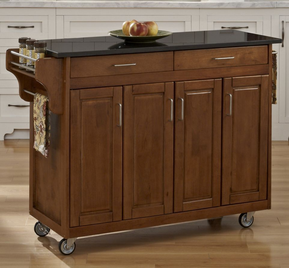 HomeStyles Create-a-Cart With Black Granite Top
