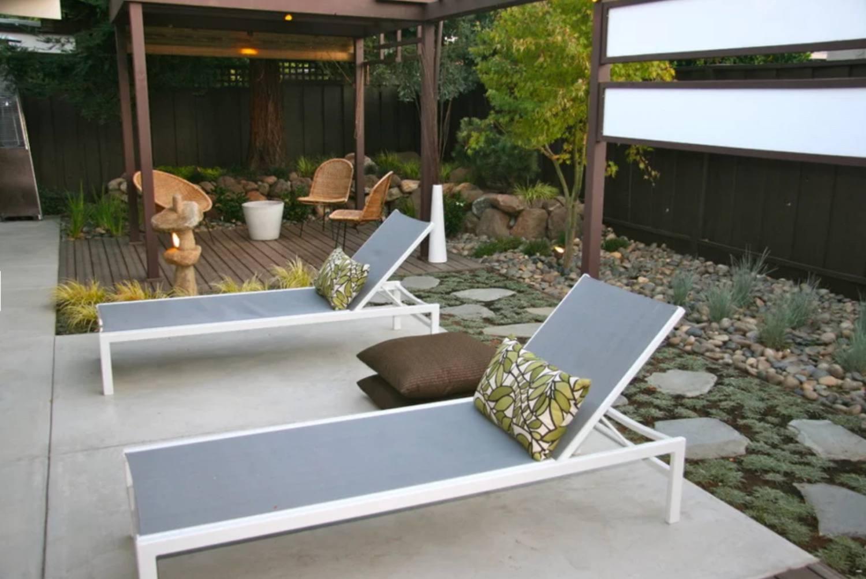 eichler home courtyard design
