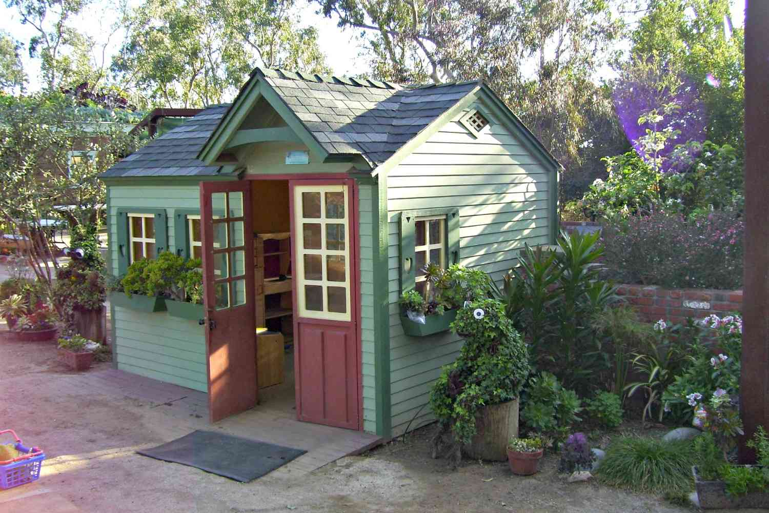 Shed playhouse