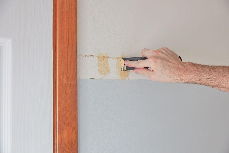 Filling wall holes