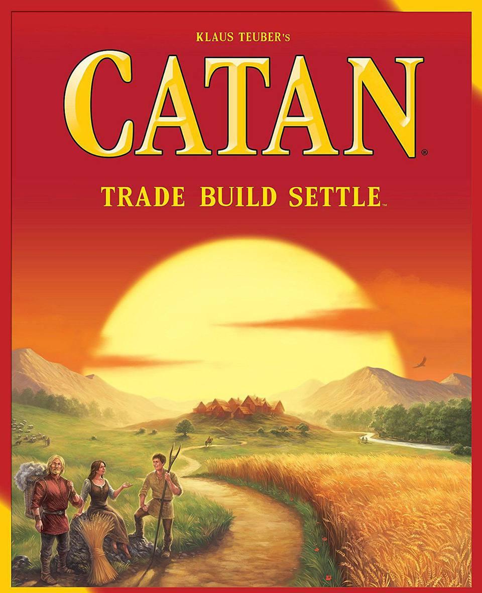 Catan box cover