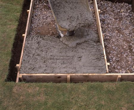 To Pour A Concrete Patio, Build A Concrete Patio