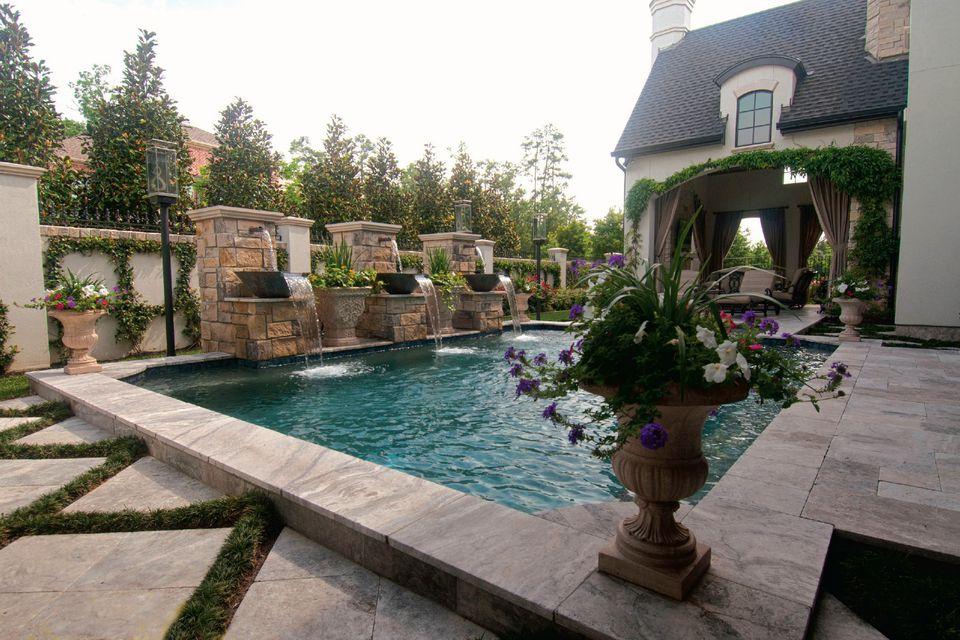 24 Beautiful Mediterranean Pool Designs