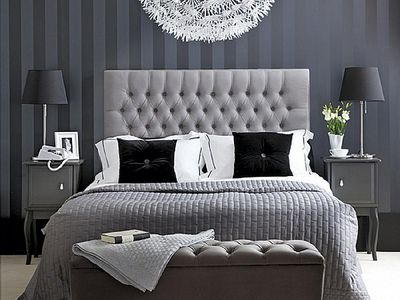 Grey And Black Bedroom Ideas 2 Custom Design Ideas