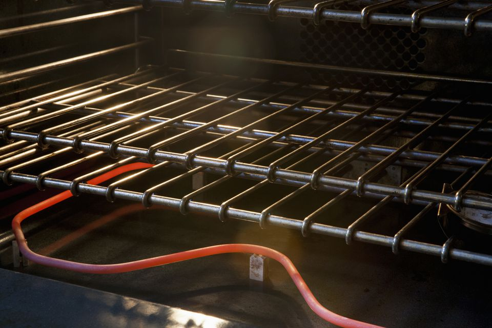 Oven heating coil