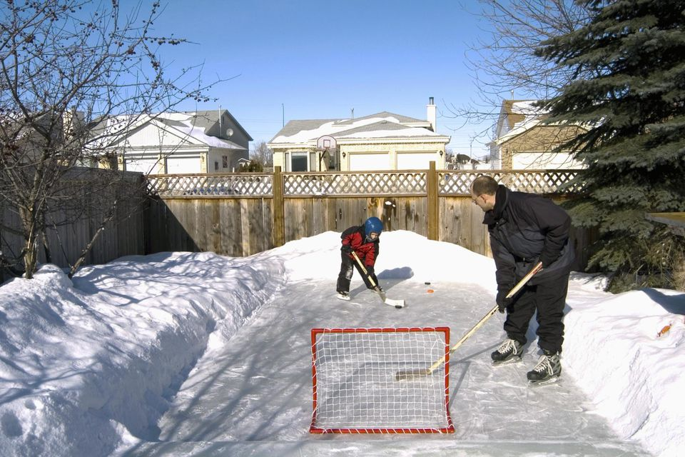 How to Build a Backyard Ice-Skating Rink