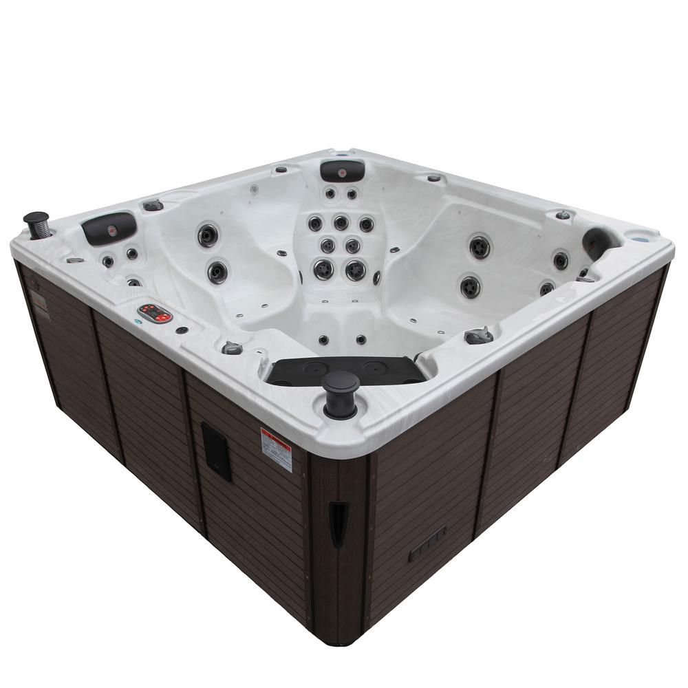 Best High End Canadian Spa Niagara 7 Person 60 Jet Acrylic Hot Tub