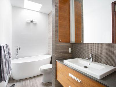 Modern Contemporary style bathroom