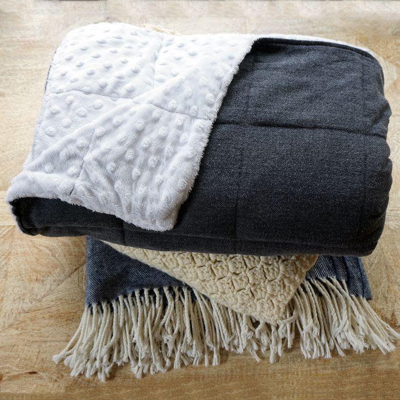 MyThreeBoysLLC Adult Weighted Blanket