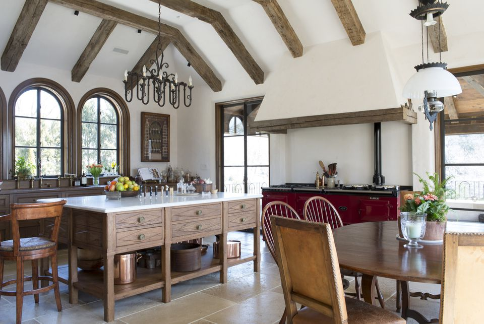 traditional spanish kitchen