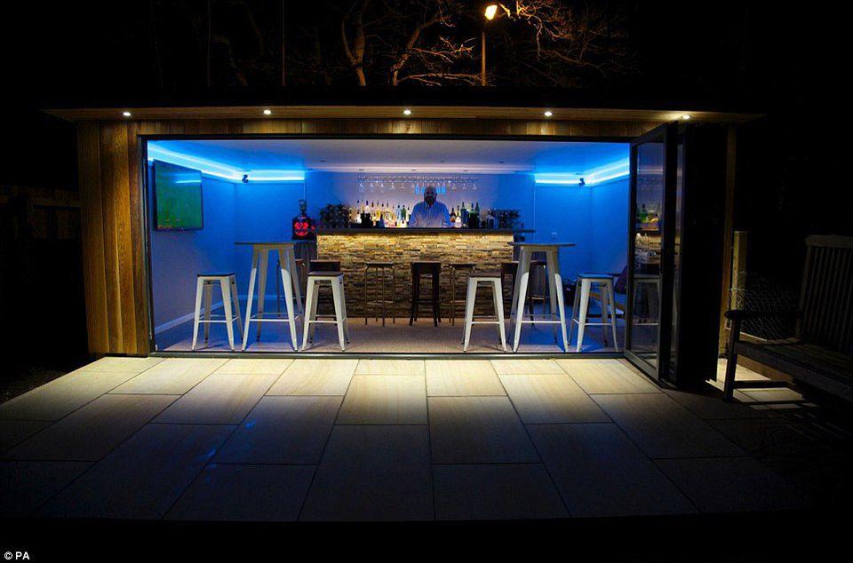Garage Makeover Bar