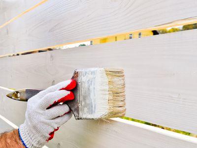 Paint Pressure Treated Wood