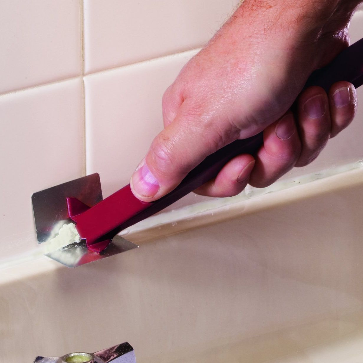 Remove Old Caulk From Your Bathtub Or Sink
